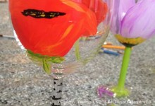 Spring Wine Glass & Bottle Painting Class Schedule