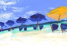 Destin Series: Umbrellas & Chairs