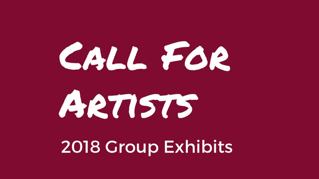 2018 Call For Artists!